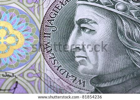 Polish currency - polish money - stock photo