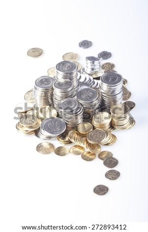 Polish currency - studio shot - stock photo