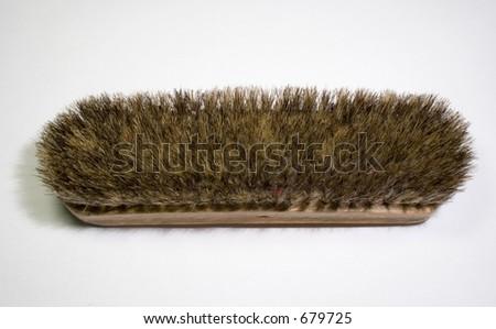 Polish shoe brush - stock photo