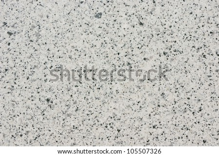 Polished granite texture in whites, grays and blacks - stock photo