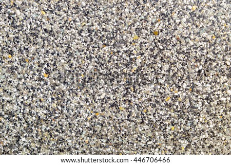 Polished grit surface with texture - stock photo