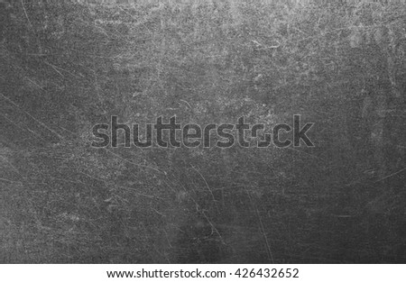 Polished metal background, close up - stock photo