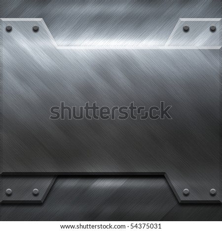 polished metal construction (big templates pack) - stock photo