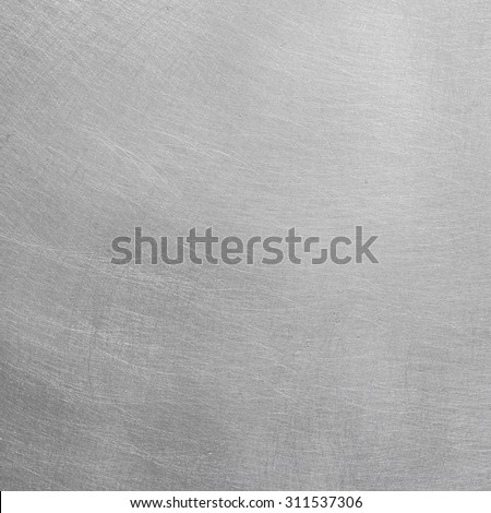Polished steel - stock photo