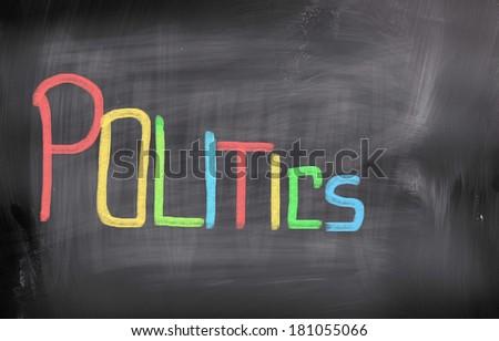 Politics Concept - stock photo