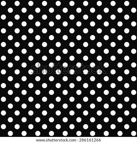 White Dot Black Background With White Dots And Black