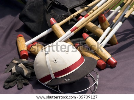 Polo Gear - stock photo