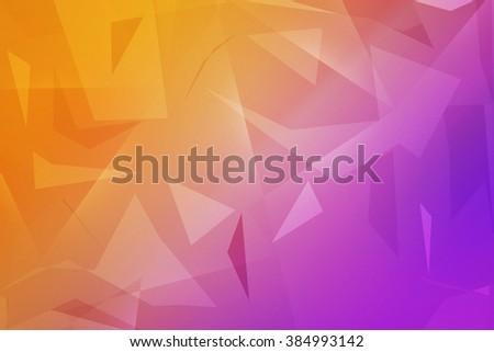 Polygonal Texture - stock photo