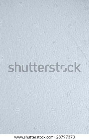 Polystyrene texture - stock photo