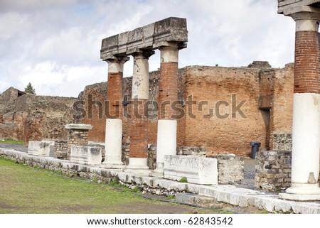 Pompei, Italy - stock photo
