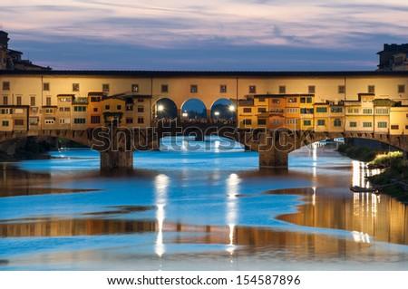 Ponte Vecchio, Firenze - stock photo