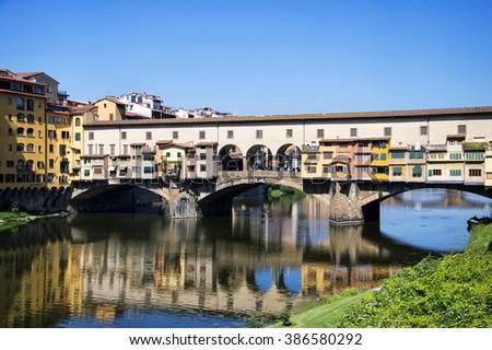 Ponte Vecchio,Florence,Italy - stock photo