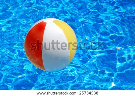 pool and ball