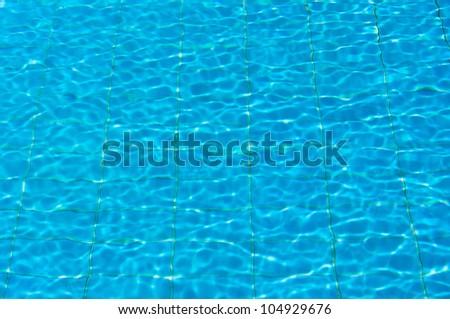 Pool Background Closeup - stock photo