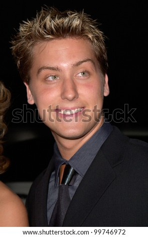 Pop star LANCE BASS of 'NSync at the Country Music Assoc. Awards at the Grand Ole Opry in Nashville, TN. 04OCT2000.  Paul Smith/Featureflash - stock photo