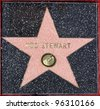 Pop star Rod Stewart's star on the Hollywood Walk of Fame.  October 11, 2005 Los Angeles, CA.  2005 Paul Smith / Featureflash - stock photo