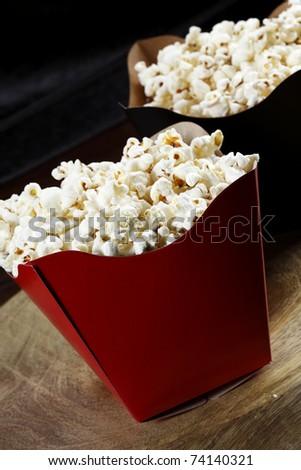 popcorn - stock photo