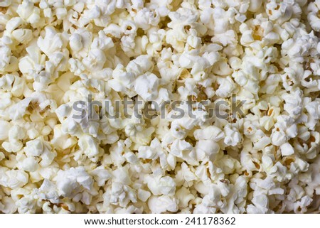 popcorn texture for background.