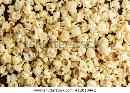 popcorn texture use for background - stock photo