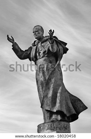 Pope John Paul II - Madrid, Spain - stock photo