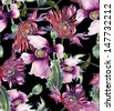 Poppies Seamless Pattern - stock