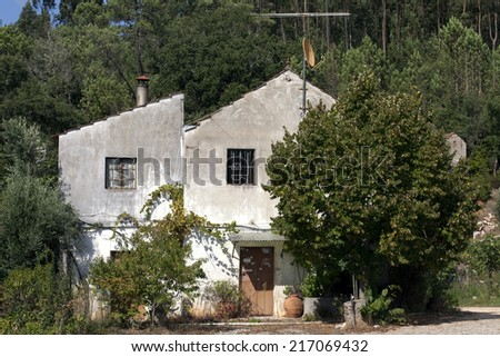 Popular country house, Portugal  - stock photo