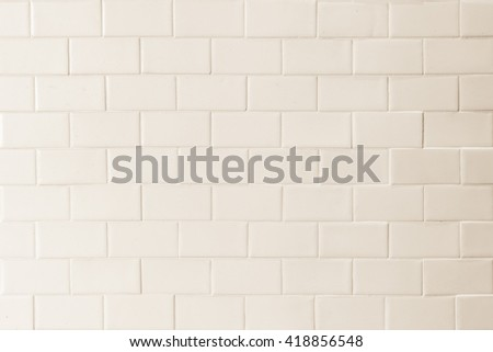 Porcelain Tile Texture Patterned Wall Background White Cream Beige Color