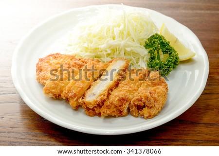 Pork cutlet - stock photo