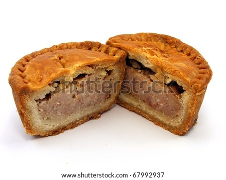 Pork Pie - stock photo