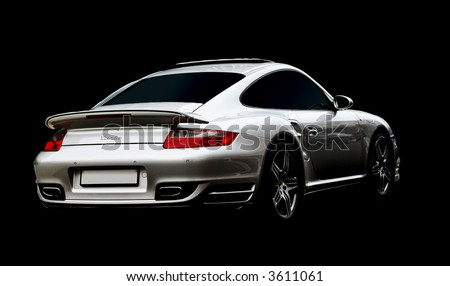 Porsche BAS Turbo edition - stock photo