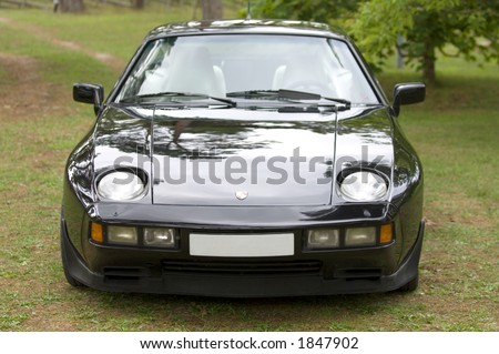 Porsche 928S with V8 engine - stock photo