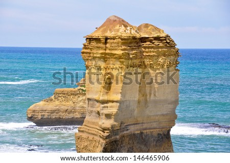 Port Campbell national park (Australia) - stock photo