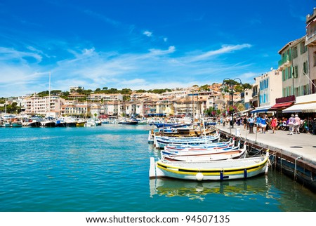 Port cassis france stock photo 94507135 shutterstock for Cassis france hotels