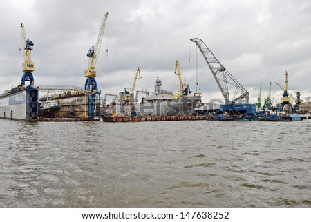 Port of Klaipeda in July, Lithuania/Port/Port of Klaipeda in July, Lithuania