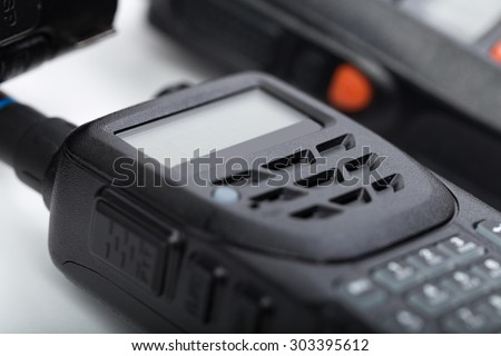 Portable walkie-talkie