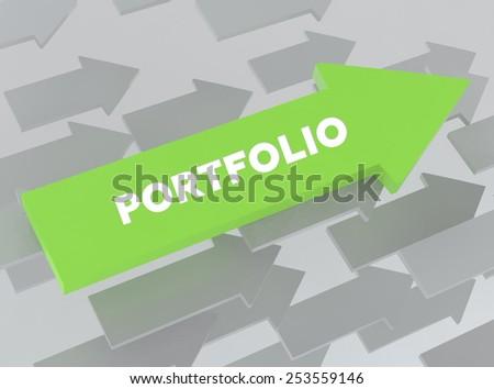 PORTFOLIO - stock photo
