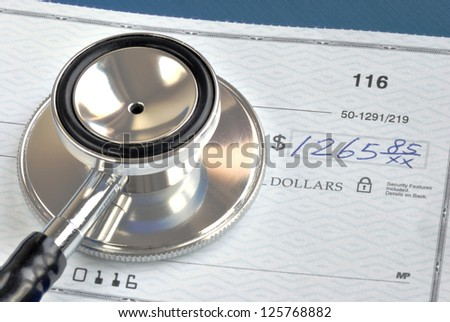 Portfolio allocation illustrates the asset in a pie chart concept of money investing - stock photo