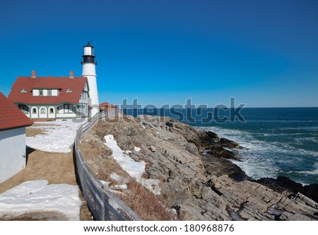 Portland Head Light (Lighthouse)