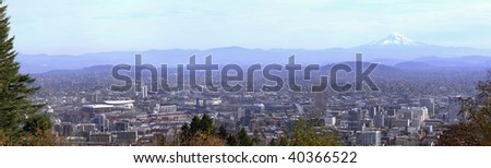 Portland Oregon Panorama.1