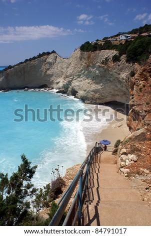 Porto Katsiki - Lefkada (Greece) - stock photo