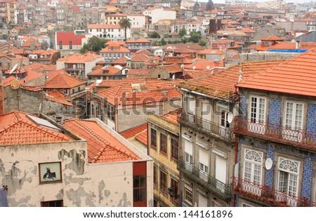 Porto, Portugal.  Ancient architecture. - stock photo