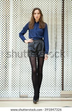 Melbourne Australia March 18 Model Showcases Stock Photo