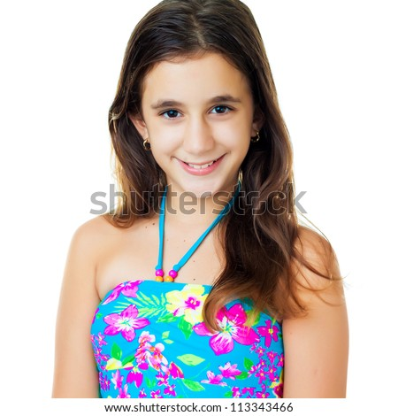 Preteen Beach Girl Stock Images, Royalty-Free Images ...