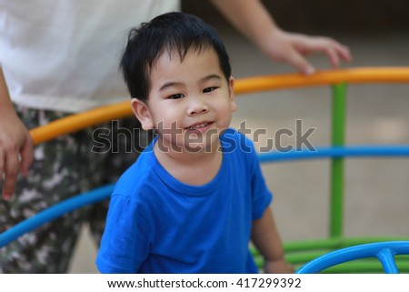 Portrait of a boy - stock photo