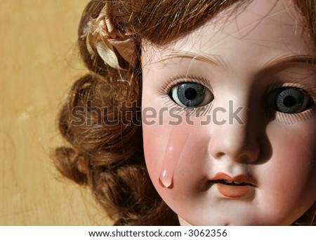 Cute Broken Porcelain Doll Makeup