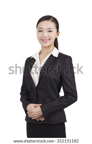 Portrait of a businesswoman