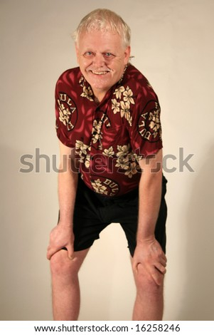 Portrait of a Mature Gentleman - stock photo