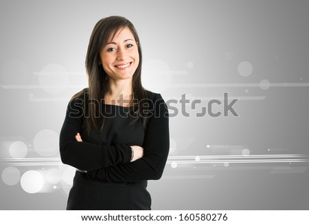 Portrait of a smiling woman