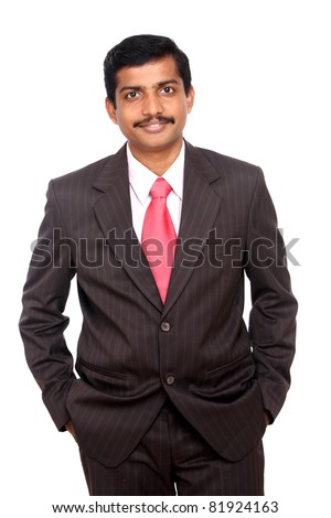 Portrait of an Indian business man