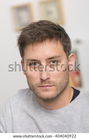 portrait of attractive man